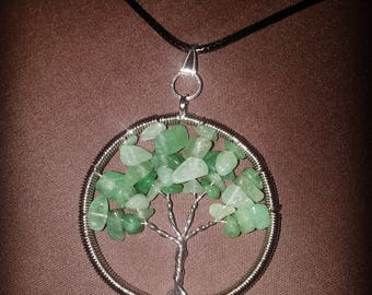 Mother Earth Tree, Green Aventurine