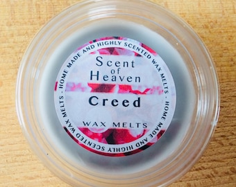Wax Melt Cup - Creed Aftershave Fragranced