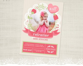 Valentine's Day Mini Session Template for Photographers - MS28