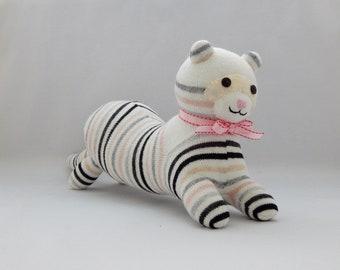Ferret Plush Toy, Weasel Stuffed Animal, Stuffed Toy, Plushie, Sock Monkey, Sock Toy