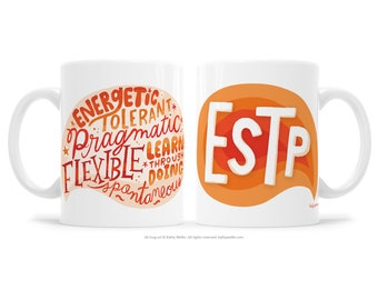 ESTP Extrovert Gift MBTI Gift BFF Gift Support Mug Friendship Mug Woo Woo Gift Myers Briggs Gift Motivational Mug Inspirational Gift Mystic
