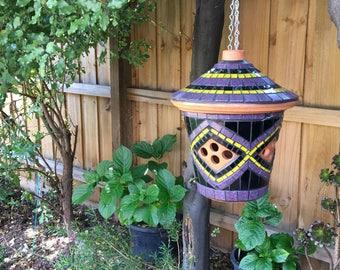 Hand crafted Mosaic lantern