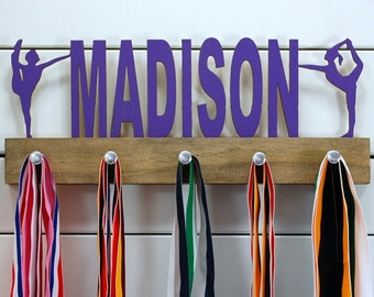 Personalized Dance Medal Display- 12 or 20 inch