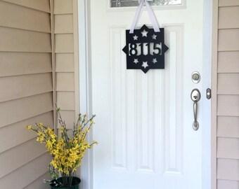 Weatherproof Address Sign for Front Door or House