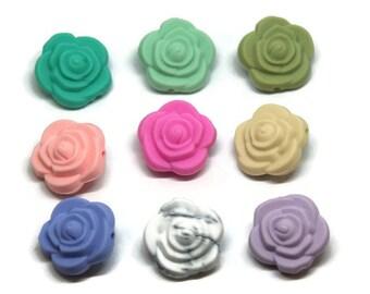 BPA free flower bead