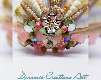 Dynamic Creations Art Mermaid Crown, Shell Crown, Seashell Crown, Mermaid Crown Adult, Tiaras, Gifts For Her, Room Decor , Parties