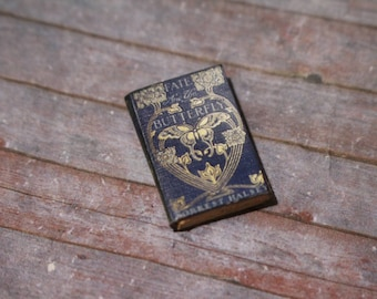 Miniature Book --- The Fate of the Butterfly