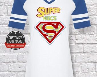 Super Niece, Grandma Gift, Niece Birthday, Mother's Day, Niece Tshirt, Niece Gift Idea, Baby Shower,