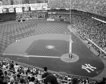 Fine Art Photography - Old Yankee Stadium, New York City,  Black and White