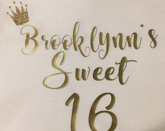 Sweet 16 Tee Shirt