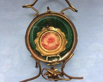 Vintage Beveled Glass Watch Holder