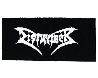 Dismember Death Metal Band Patch