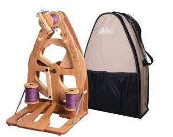 Ashford Joy 2 Spinning wheel with carry bag.