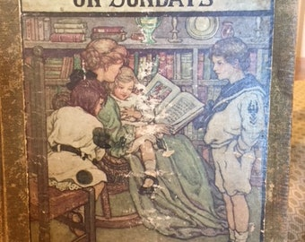 With the Children on Sundays - vintage hardcover
