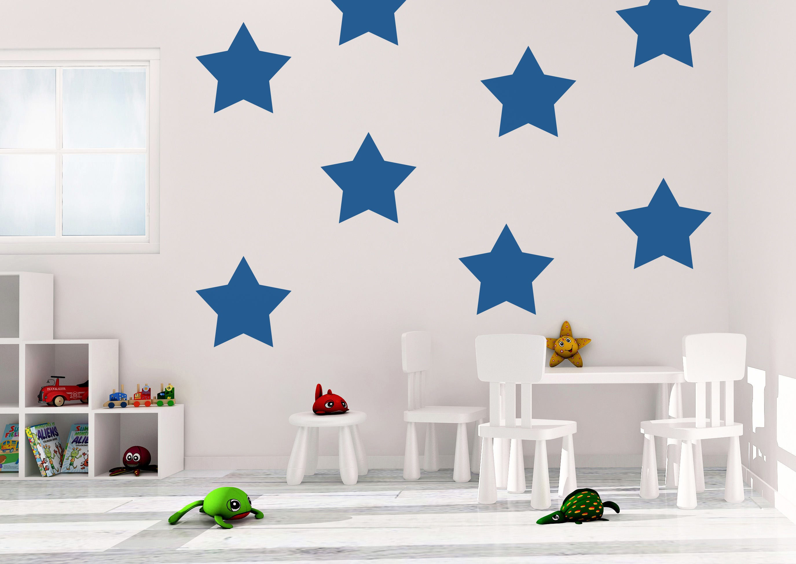 Star Wall Decals - Star Decal - Vinyl Wall Decal - Stars - Wall Decal - Decal - Stars Wall Decor - Stars Home Decor & Star Wall Decals - Star Decal - Vinyl Wall Decal - Stars - Wall ...
