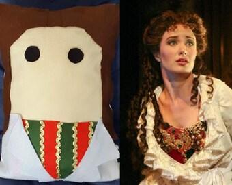 Phantom of the Opera Christine Daae Decorative Plush Pillow Cushion