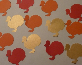 Thanksgiving Turkey Confetti (120 Count)