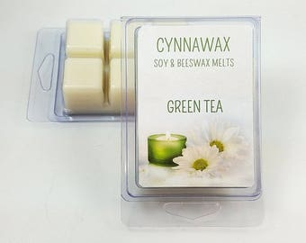 GREEN TEA Soy & Beeswax Melts