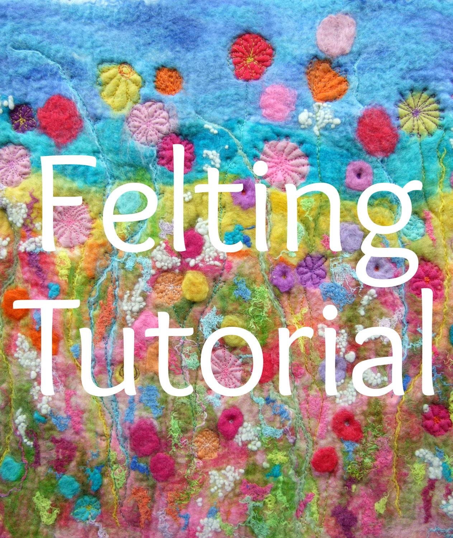 Creating felt artwork felting stitching wet felting pdf zoom baditri Images
