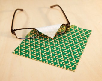 Triangle pattern Microfiber Cloth
