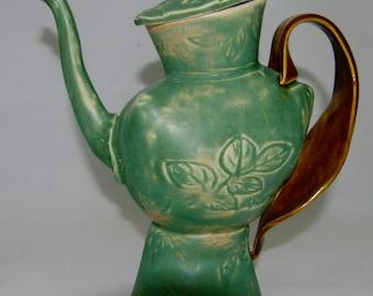 Whimisical Teapot, Tea Pot Set, Ceramic Tea Set, Teapot and Cups, Pottery Tea Set 002