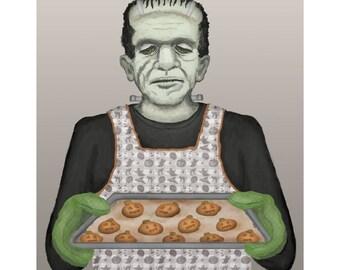 Impression de cuisson de Frank vacances