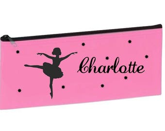 School pink dancer personalized with name package