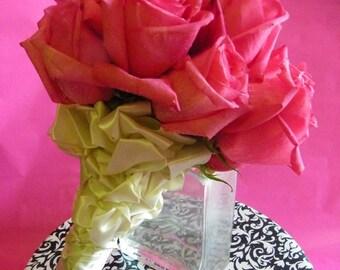 Rose Silk Flower Wedding Package