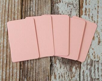 50pc BABY PINK Lakeland Series Business Card Blanks