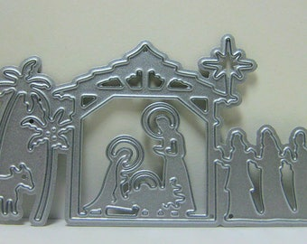 Nativity Scene Metal Cutting Die Set