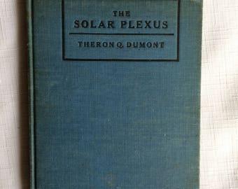Solar Plexus,Natural Healing,Metaphysical Book,New Age Book,Mind Power,Spiritual Health,Historical Spiritual,Spiritual Ephemera,Metaphysical