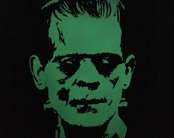 Frankenstien Glow in the dark  16x20