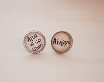 harry Potter earrings | Always