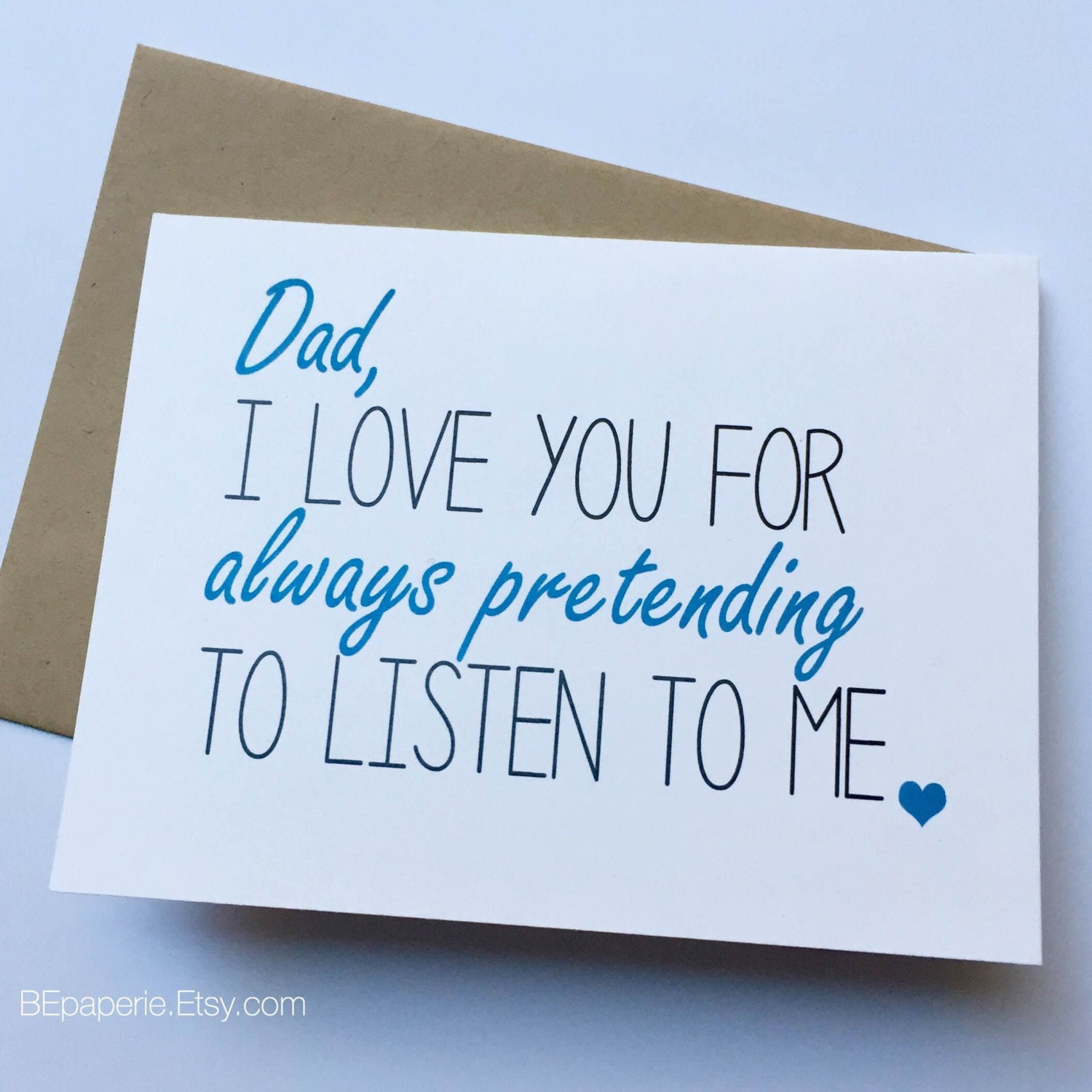 Dad card dad from daughter dad birthday card zoom kristyandbryce Images