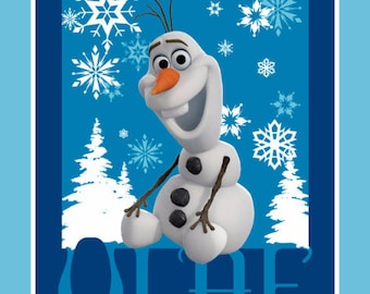 Disney Frozen Olaf Fabric From Springs Creative