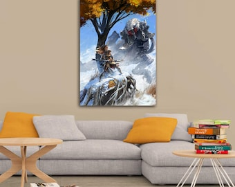 Horizon Zero Dawn Aloy Art Poster A1, A2, A3, A4 Sizes Matte, Glossy Paper