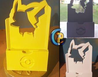 Phone dock Pikachu.
