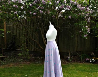 Linen Maxi Skirt, Maxi Linen Skirt, Circle Skirt, Full Circle Skirt, 50s Style Skirt, Purple Linen, Womens Full Skirt, Long Maxi, Full Skirt