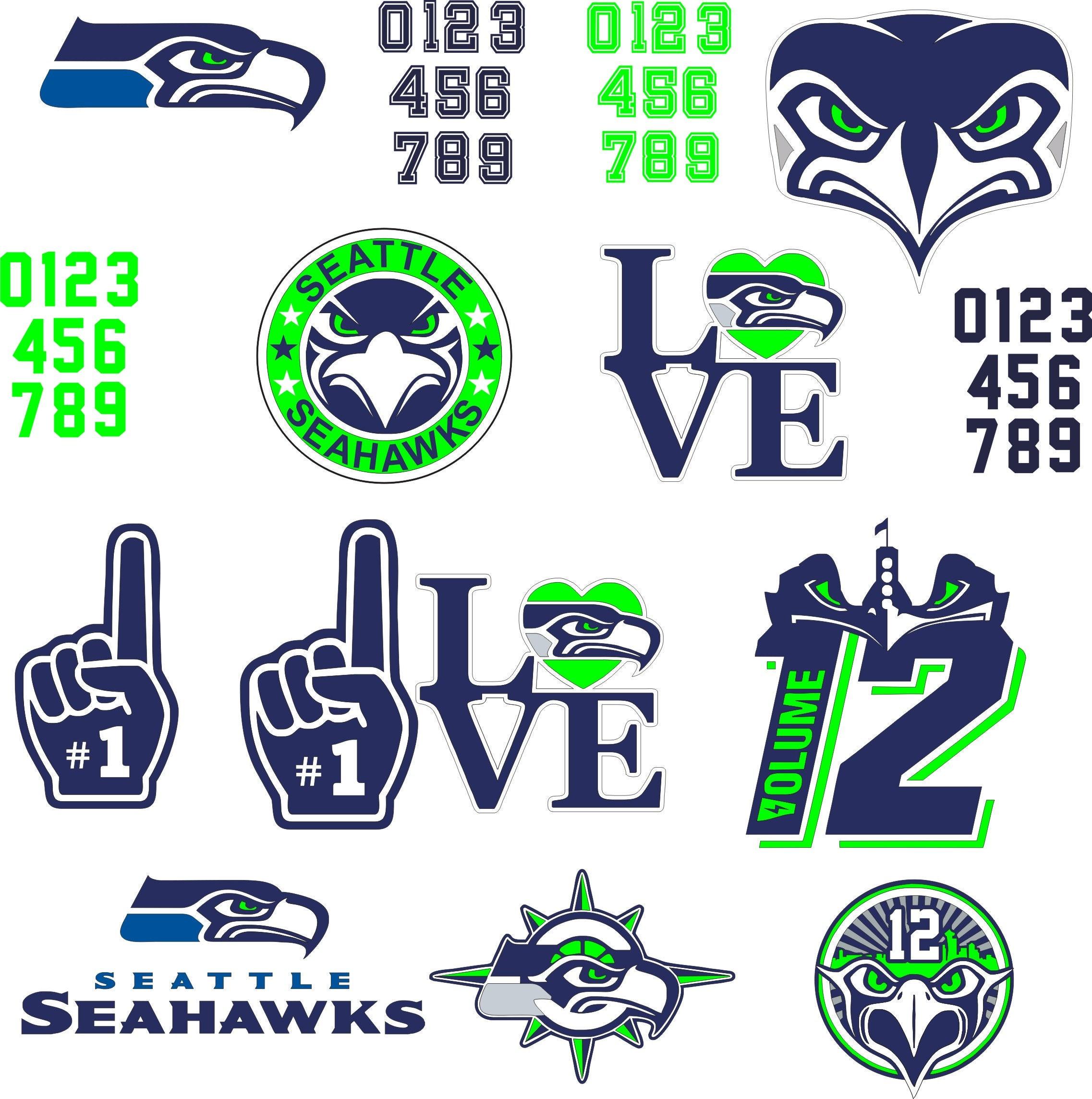 seattle Seahawks svg logo vector eps digital