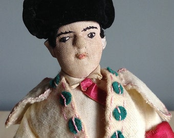 Toreador Bull Fighter Doll Spain 1950s