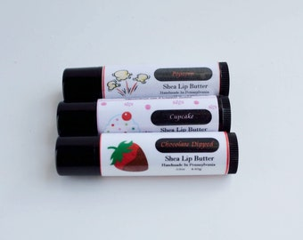 Chocolate Dipped Lip Butter (strawberry/chocolate)