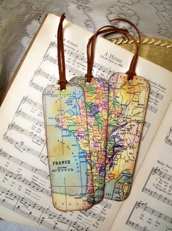 France map bookmarks historical france set of 3 old world map france map bookmarks historical france set of 3 old world map gifts for men gifts for him map lovers travelers map collectors gumiabroncs Gallery