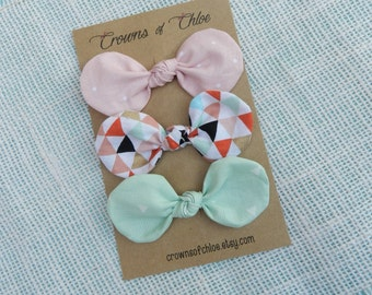 Fabric Knotted Bows