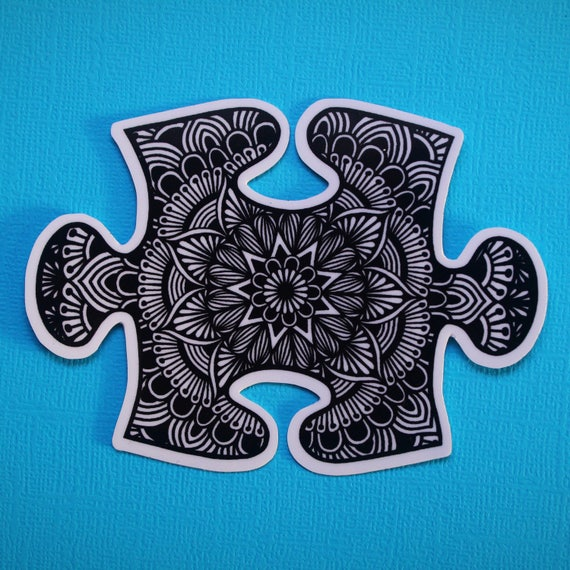 Puzzle Piece Sticker