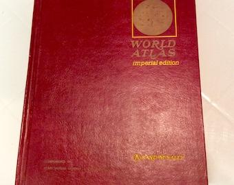 World Atlas - Imperial Edition - Rand McNally - Copyright 1972