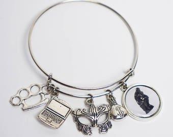 Leverage Fandom Bangle Bracelet