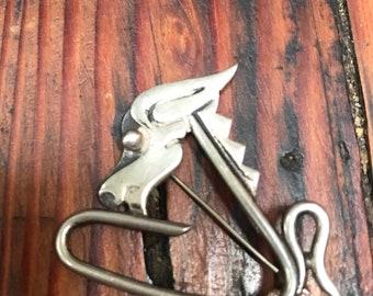 Vintage Spratling horse pin