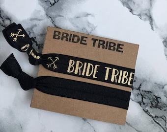 Bride tribe hair ties