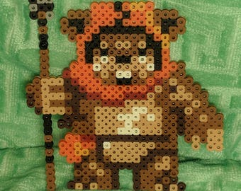 Ewok of Star Wars Pixel beads