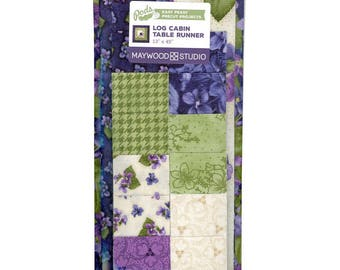 "ARABELLA Log Cabin Table Runner Pod - 13"" x 45"" precut kit"